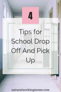 School drop off and pick up can be a pain. People everywhere, staying in lanes can all make you stressed out to start off the day. Use these 4 tips to make for a better school drop off and pick up routine. #school
