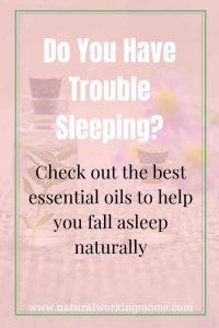 Sleep is so important for us to be healthy and function properly. Find out what essential oils you you can use and diffuse to help your family sleep naturally. #essentialoils #sleepoils