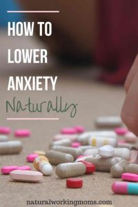 Are you an anxious mom? Motherhood is already tough enough, we don't need anxiety to make it harder. If you are dealing with anxiety, find out how you can start lowering you anxiety with this one simple tip.