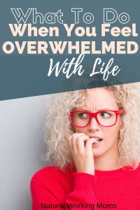 It can be easy to get overwhelmed with life as a mom. Find out 4 easy steps you can take today to beat the overwhelm.