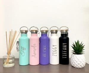 water bottle for uses for peppermint oil