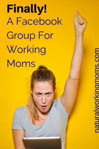 Are you a working mom who is looking for an encouraging community? Check out this Facebook group just for working moms to receive the encouragement and support they need.