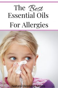 Essential oils are a great way to get relief from allergy symptoms. Whether you like to diffuse, apply directly, or roll on, these essential oils can help relieve symptoms from allergies in both adults and children. Find out which ones are the best! #essentialoils