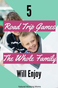 kids going on a road trip in a car